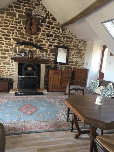 interior of our home in La Source France